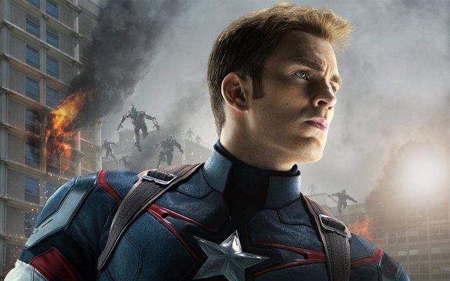 Chris Evans como Capitán América en