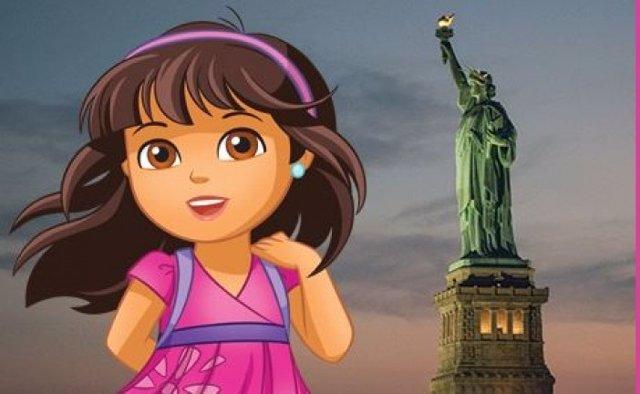 Dora , nueva embajadora de Nueva York