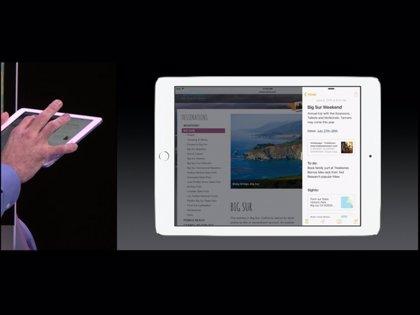 La multitarea y la pantalla dividida llegan a iPad con iOS 9
