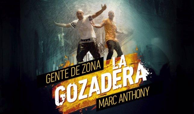 Marc Anthony y Gente D' Zona se unen en La Gozadera.
