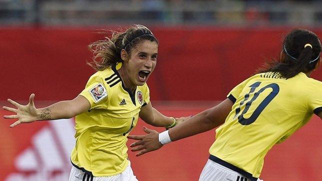 Colombia y México empatan en Mundial femenino de Canadá