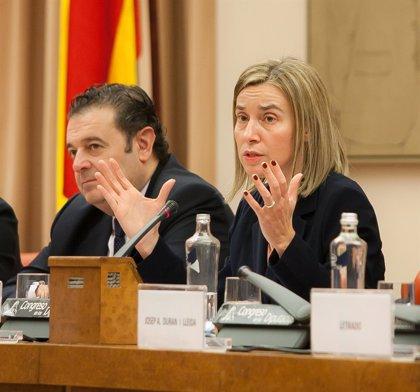 """Mogherini comparte el enfoque de """"diálogo"""" propuesto por González en su visita a Venezuela"""