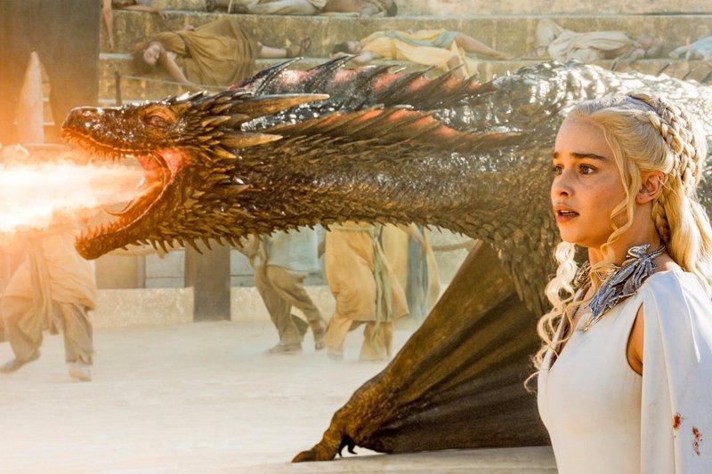 Juego de tronos: Así se rodó la épica escena de Drogon en Danza de Dragones
