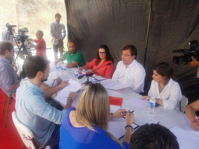 Reunión Vara- Podemos