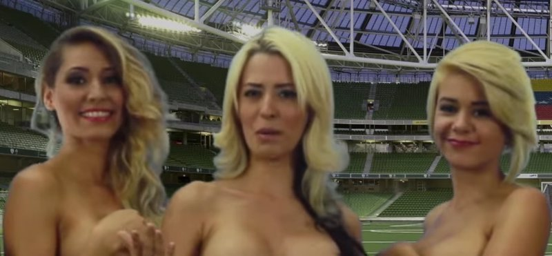 Video Viral Presentadoras Venezolanas Se Desnudan Por La Vinotinto