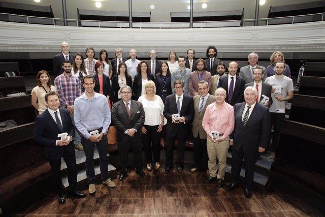 Entrega de los Premios Hélice de la Universidad de Zaragoza
