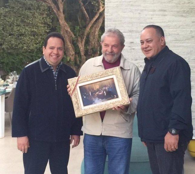 Luiz Inácio Lula da Silva con Cabello en Brasil