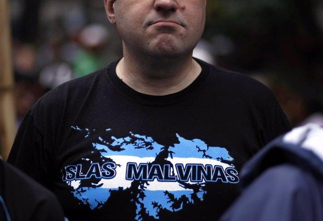 Argentino Reclama Las Malvinas