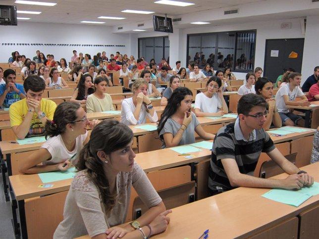 Examen de Selectividad en la US de 2014