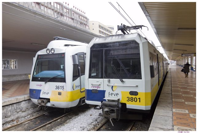 Trenes en Santander
