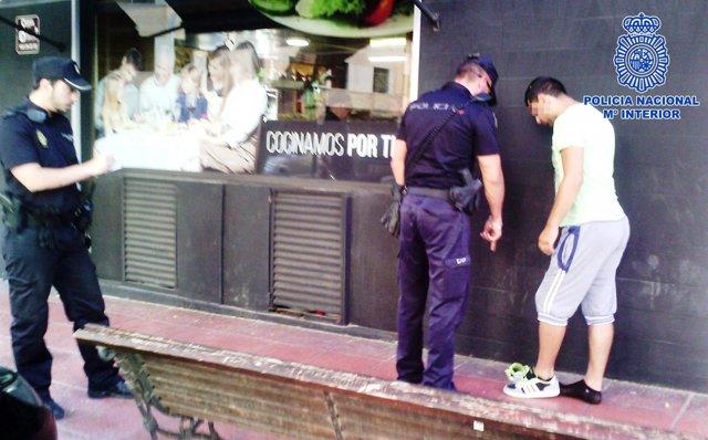 Identificación de un sospechoso de delito de receptación