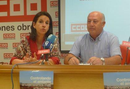 CCOO alerta de que 1.319 personas morirán en España entre 2016 y 2020 por enfermedades relacionadas con el amianto