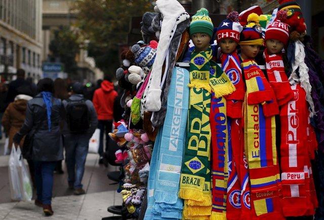 Todo preparado para la Copa América Chile 2015