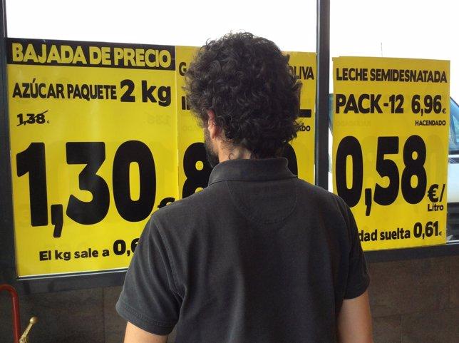 Precios, IPC, compras, comercio, consumo, supermercado