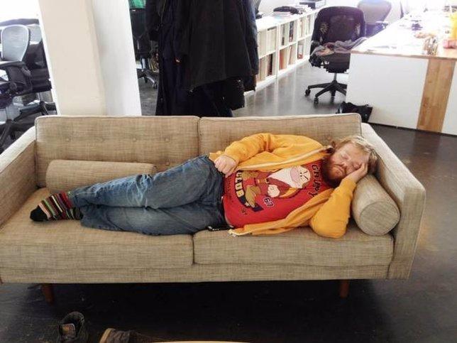 Siesta en el trabajo, Photosop como relajo