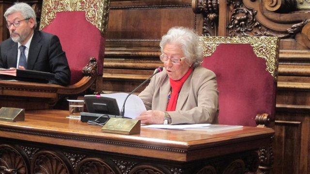 Concejal Joan Puigdollers (CiU), síndica greuges Barcelona Maria Assumpció Vilà