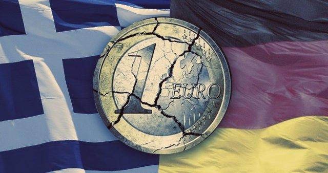Grecia, Alemania, euro.