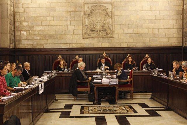 Pleno del Ayuntamiento de Girona