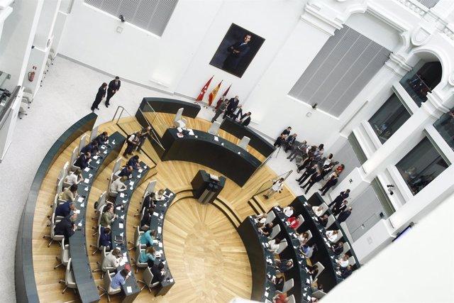 Pleno del Ayuntamiento de Madrid para la elección de alcalde