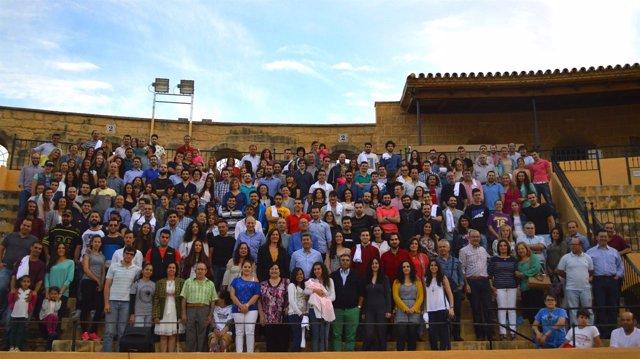 Homenaje a extras de Juego a Tronos en Osuna (Sevilla)