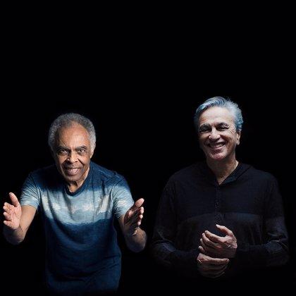 Gilberto Gil y Caetano Veloso celebran por Europa sus 50 años de música