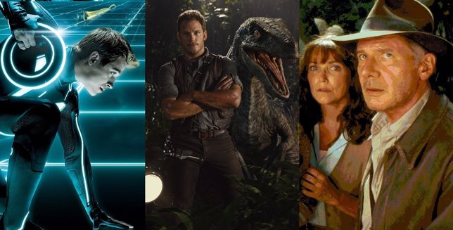 Tron, Jurassic Wolrd y Indiana Jones, 12 secuelas que tardaron mucho en llegar