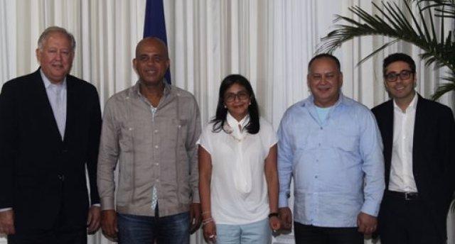 Reunión de representantes de Venezuela y EEUU en Haití