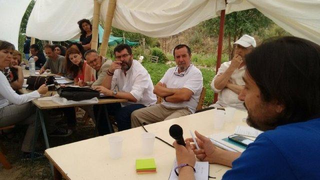 Encuentro de Podemos celebrado este domingo en Granada