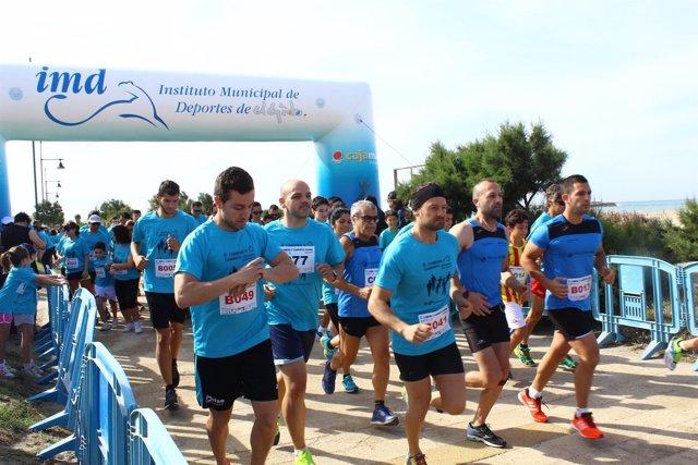 Carrera solidaria en El Ejido (Almería)
