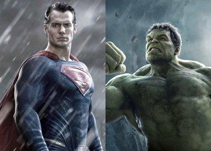 Superman vs Hulk: ¿Quién ganaría?