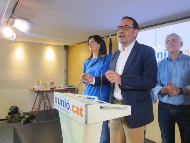 El secretario general de UDC, Ramon Espadaler