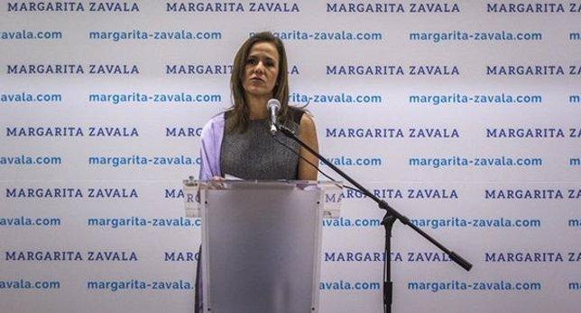 Margarita Zavala, esposa del ex presidente de México, Felipe Calderón