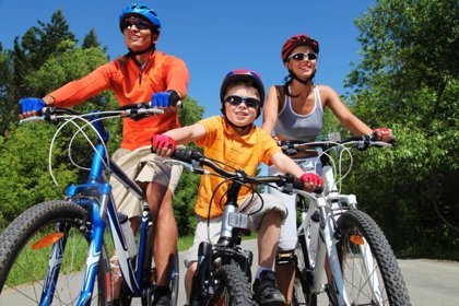 Ciclismo en familia: los beneficios de la bicicleta
