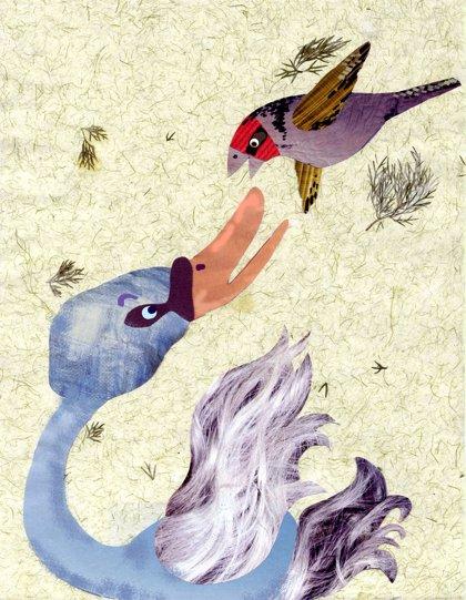 El jilguero y el cisne. Fábulas para niños