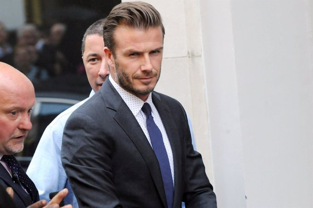 David Beckham devastado por la muerte de su abuela