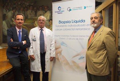 España pionera en el uso la biopsia líquida en cáncer colorrectal metastásico