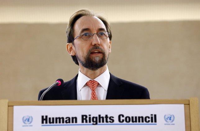 El Alto Comisionado de la ONU para los Derechos Humanos, Zeid Raad al Husein