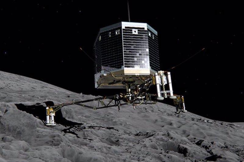 Philae recibe 3 horas diarias de Sol y ya puede trabajar