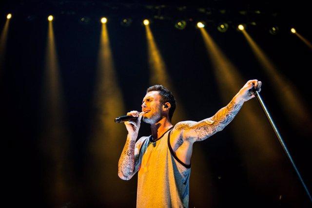 Italy: Maroon 5 live concert in Milan