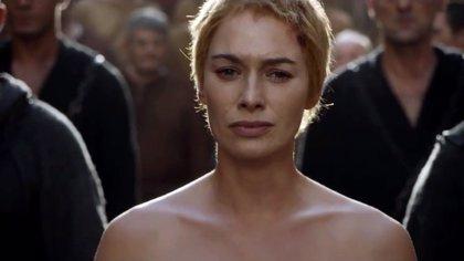 Juego de tronos: Cersei Lannister (Lena Headey) usó doble de cuerpo en su desnudo