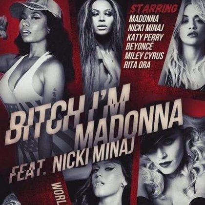 Beyoncé, Katy Parry, Nicki Minaj, Miley Cyrus y Rita Ora participan en el nuevo videoclip de Madonna