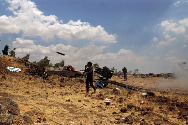 Ataque en la provincia de Quneitra, Siria