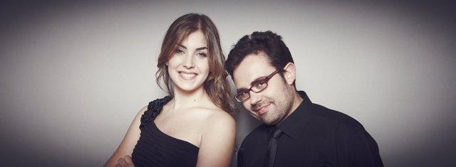 Dúo de piano Iberian & Klavier: Laura Sierra y Manuel Tévar