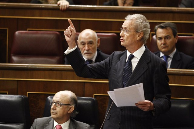 Pedro Morenés en el Congreso