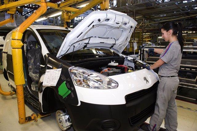 Producción del Peugeot (Vigo)