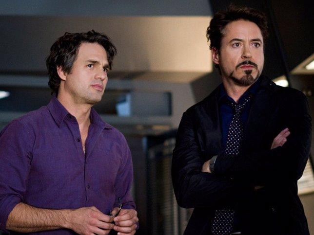 Bruce Banner/Hulk y Tony Stark/Iron Man