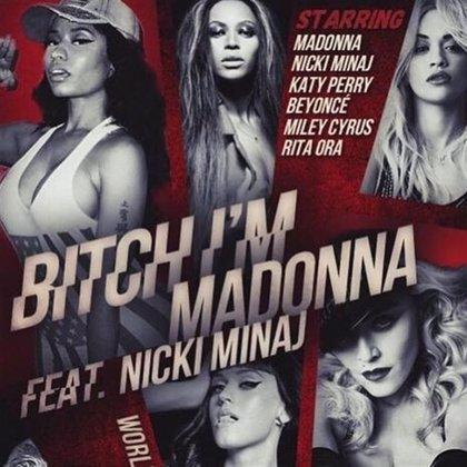 Madonna estrena su vídeo con Beyoncé, Katy Perry, Nicki Minaj, Miley Cyrus y Rita Ora