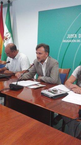 El delegado de la Junta en Huelva en funciones, José Fiscal.