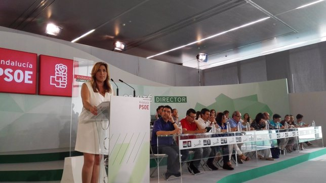 Susana Díaz, ante el Consejo Director del PSOE-A