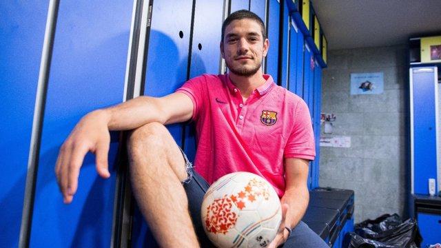 Marc Tolrà regresa al FC Barcelona